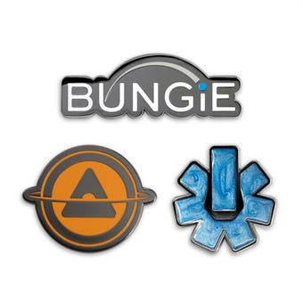 Bungie 30th Anniversary Collectible Pin Set
