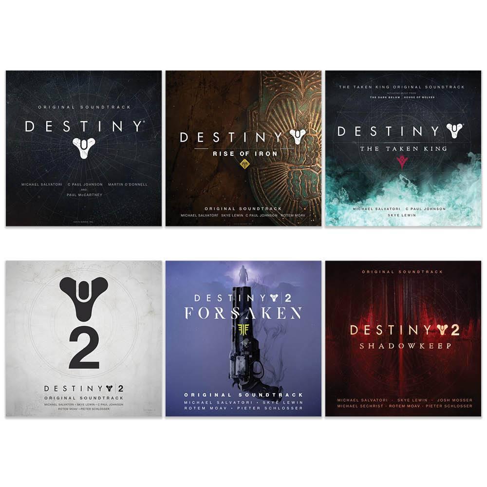 Destiny Soundtrack Bundle