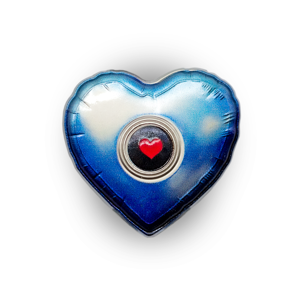 Empathetic Ghost Shell Collectible Pin