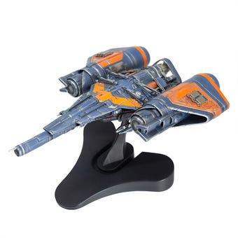 Arcadia Class Jumpship Sculpture