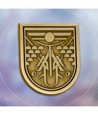 Bungie Rewards - Splintered Seal Collectible Medallion Pin