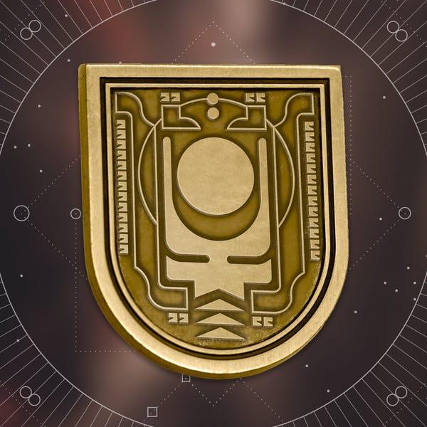 Bungie Rewards - Chosen Seal Collectible Medallion Pin