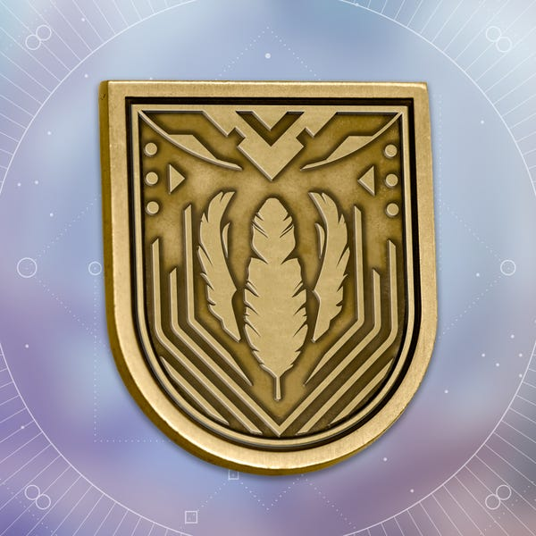 Bungie Rewards - Warden Seal Collectible Medallion Pin