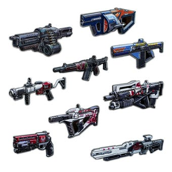 Armory Series 5 Pinnacle Weapon Collectible Pins (Blind Bags)